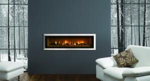 газовый камин для отопления дома