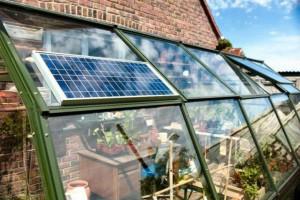 отопление теплицы солнечными батареями