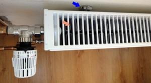 радиатор с вентилятором в квартире