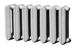 семисекционная батарея отопления