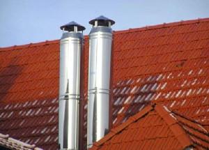 металлическая труба для дымохода