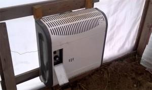конвекционный метод отопления теплицы