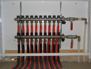 коллекторная система отопления в доме