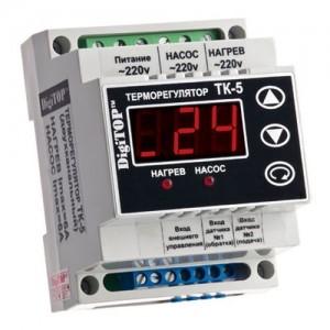 электрический термостат для котла