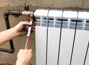 самостоятельный монтаж радиатора