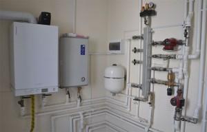 газовый котел в системе отопления