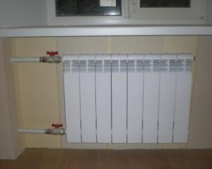 биметаллическая батарея отопления в квартире