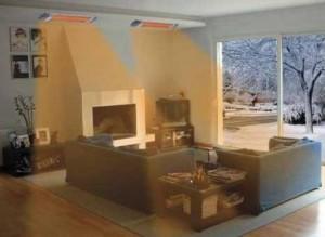 инфракрасное отопление жилого дома