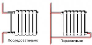 последовательно и параллельной подключение батареи