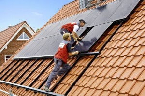 монтаж солнечного отопления