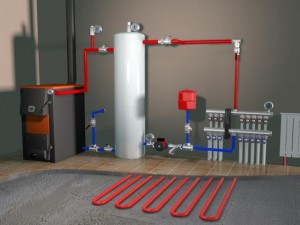 коллектор для системы отопления
