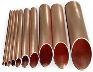 медные трубы разных диаметров