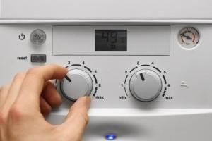 панель управления газового котла