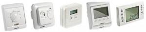 виды термостатов для отопления