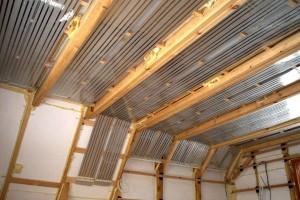 потолочная система инфракрасного отопления
