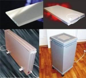 виды электрических приборов отопления