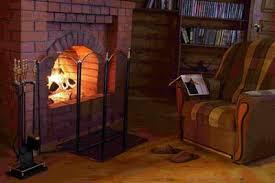 дровяной камин для отопления дома