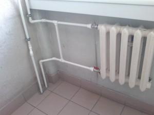 полиэтиленовая труба в системе отопления