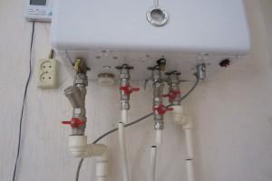 двухконтурный установленный газовый котел дэу