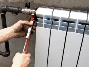 Як стравити повітря з батареї