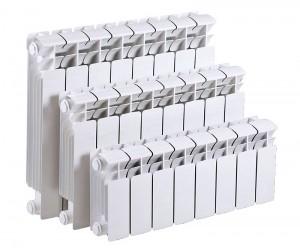 различные типоразмеры радиаторов из биметалла