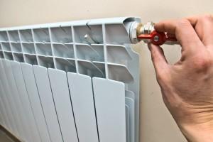 перекрытие подачи воды в радиатор отопления