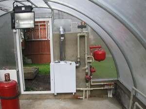паровая система отопления в теплице