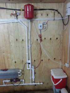 система подключения теплого водяного пола