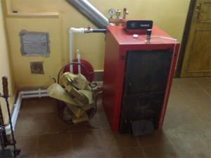 отопление частного дома дровяным котлом