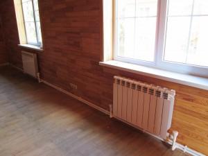 радиаторы отопления в двухэтажном доме