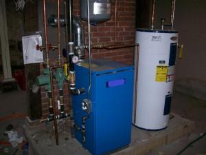 турбированный газовый котел отопления