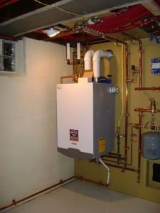 конденсационный газовый котел в частном доме