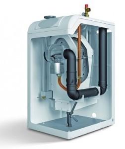 турбированный двухконтурный газовый котел