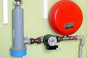 электрокотел отопления с насосом и расширительным баком