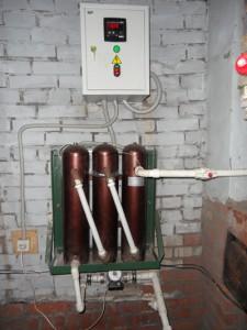 индукционный котел отопления в доме