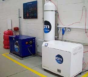 установленный водородный котел
