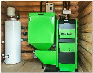 комбинированный котел электричество, дт и газ в доме