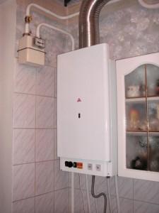 газовый котел в квартире