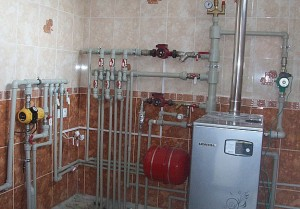 котельная дома с газовым котлом