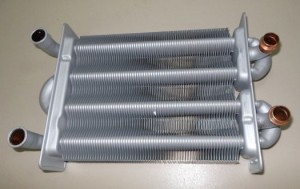 стальной теплообменник газового котла