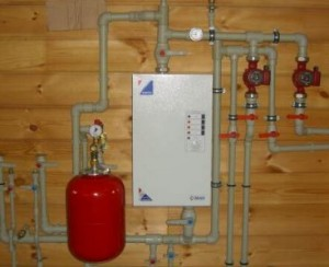 электрический котел отопления в частном доме