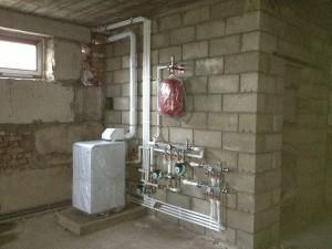 подключение напольного газового котла