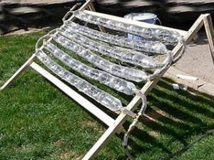 самодельный солнечный коллектор отопления