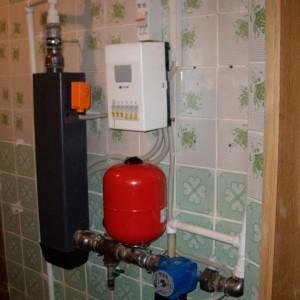 электрический котел в квартире