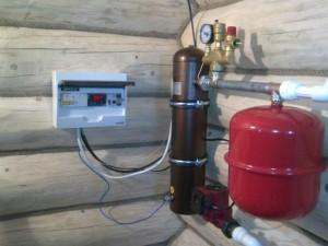 система отопления на основе индукционного котла