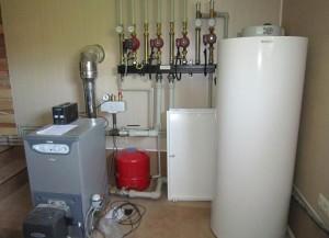 котел отопления на газе и дизельном топливе