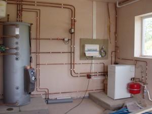 закрытая система отопления в доме