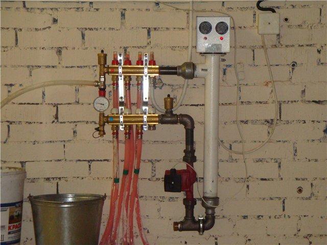 Как залить антифриз в систему отопления дома своими руками 14