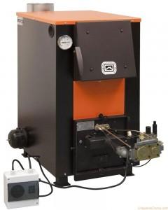комбинированный котел отопления дрова-электричество