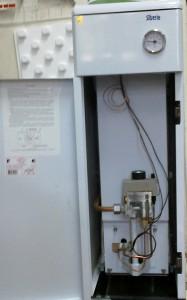 газовый котел сиберия в открытом виде